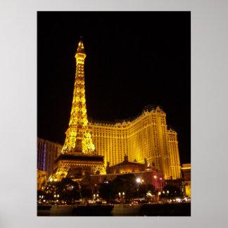 Paris Hotel & Casino Poster