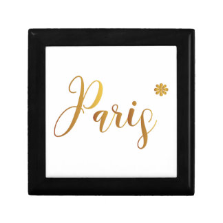 Paris-in-Gold-with-Flower Gift Box