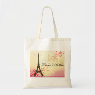 Paris in Love - Eiffel Tower Budget Tote Bag