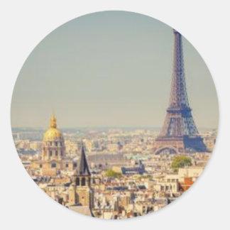paris-in-one-day-sightseeing-tour-in-paris-130592. classic round sticker