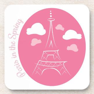 Paris In Spring Beverage Coaster