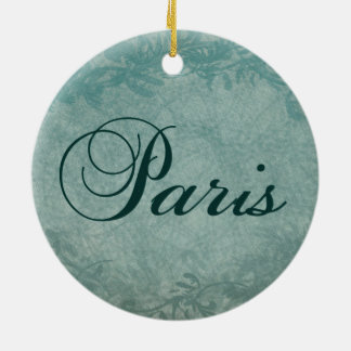 Paris in Spring Christmas Ornaments