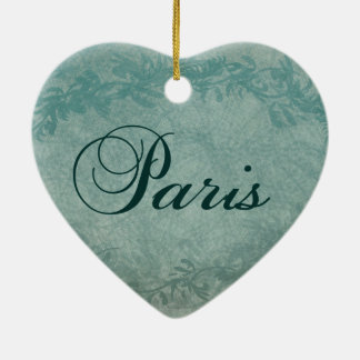 Paris in Spring Christmas Tree Ornaments