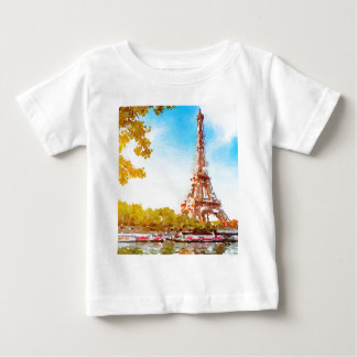 Paris in The Fall Baby T-Shirt