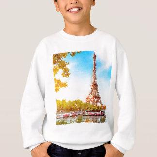 Paris in The Fall Sweatshirt