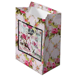 Paris in the Spring Medium Gift Bag