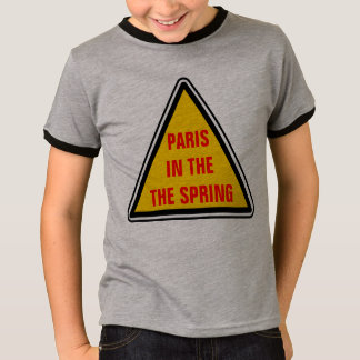 Paris In The The Spring T-Shirt