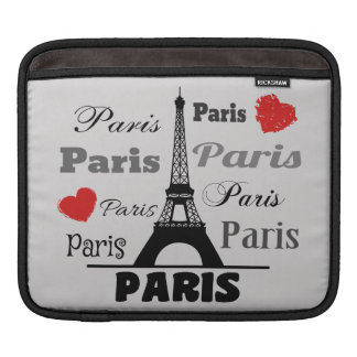Paris iPad Sleeve