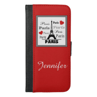 Paris iPhone 6/6s Plus Wallet Case
