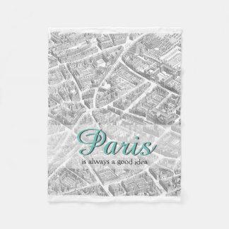 Paris is Always A Good Idea | Blanket