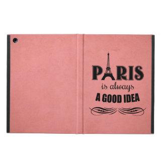 Paris is always a good idea case for iPad air