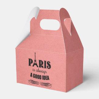 Paris is always a good idea favour box