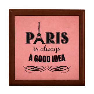 Paris is always a good idea gift box
