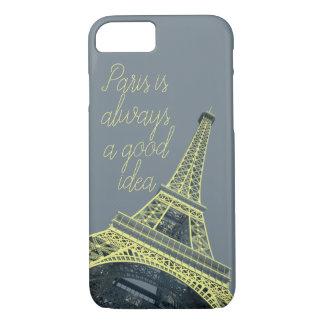 Paris is always a good idea iPhone Case