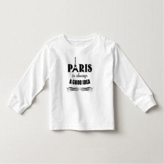 Paris is always a good idea toddler T-Shirt