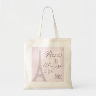 Paris Is Always A Good Idea Budget Tote Bag