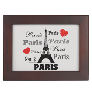 Paris Keepsake Box
