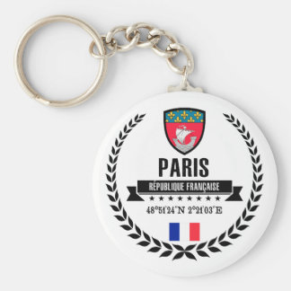 Paris Key Ring