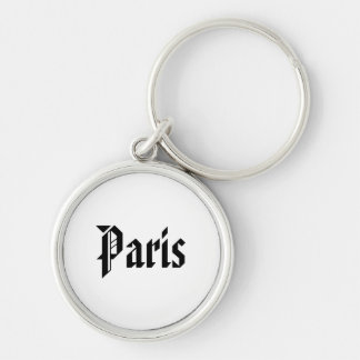 Paris Keychain