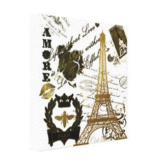 Paris: La Tour Eiffel Canvas Print