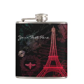 Paris: La Tour Eiffel Hip Flask