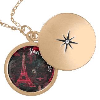 Paris: La Tour Eiffel Locket Necklace