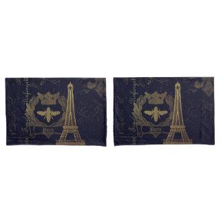 Paris: La Tour Eiffel Pillowcase