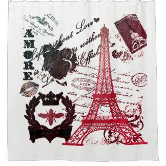 Paris: :La Tour Eiffel Shower Curtain