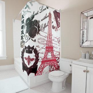 Paris: La Tour Eiffel Shower Curtain