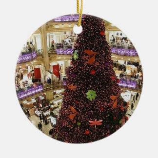 Paris Lafayette Christmas Tree Ornament