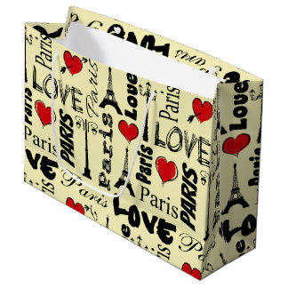 Paris Large Gift Bag