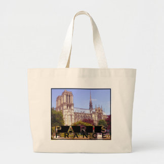 Paris Large Tote Bag