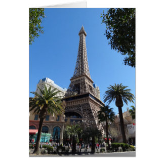 Paris Las Vegas Hotel & Casino Card