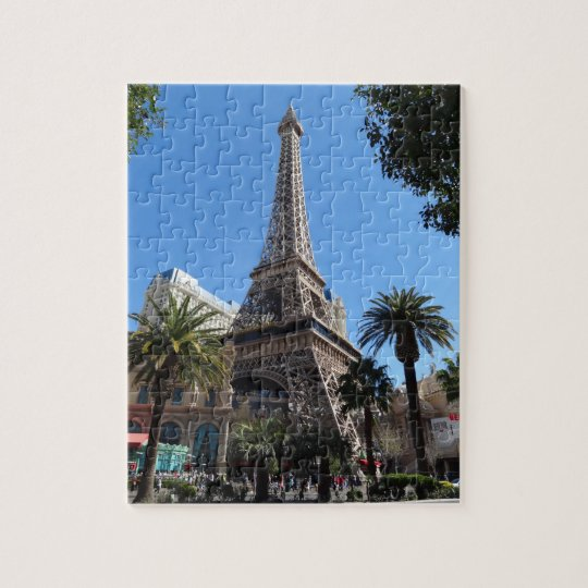 Paris Las Vegas Hotel & Casino Jigsaw Puzzle