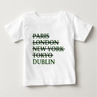 Paris London NYC Tokyo Dublin Baby T-Shirt