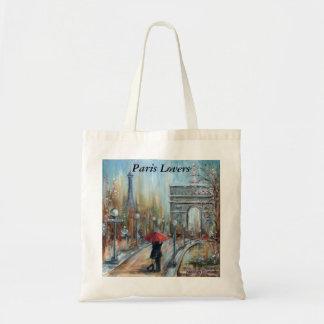 Paris Lovers Tote Bag
