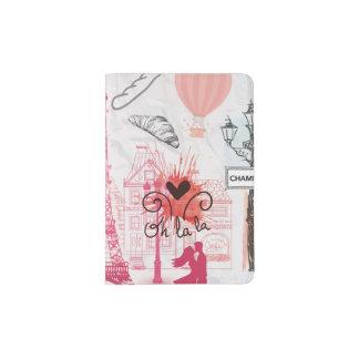 Paris magic passport holder