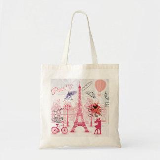 Paris magic tote bag