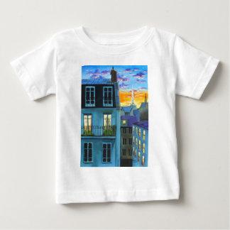 Paris memories Eiffel tower Baby T-Shirt