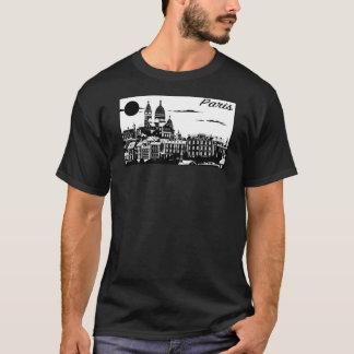 Paris Men's Basic Dark T-Shirt