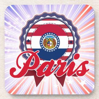 Paris, MO Drink Coaster
