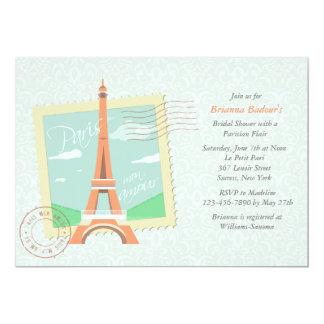 Paris Mon Amour Bridal Shower Invitation