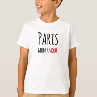 Paris, Mon amour Tshirts