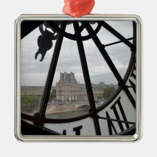 Paris- Musee de Orsay Clock_.jpg Metal Ornament