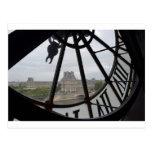 Paris- Musee de Orsay Clock_.jpg Postcard