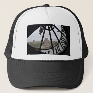 Paris- Musee de Orsay Clock_.jpg Trucker Hat