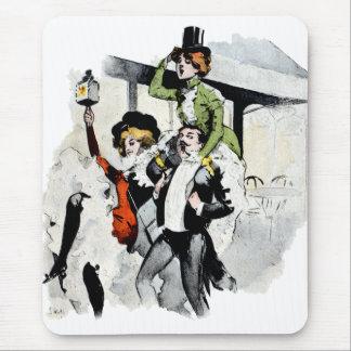 Paris Nightlife no. 4 Mouse Pad