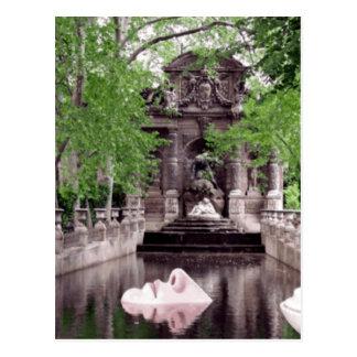 Paris Nose Postcard