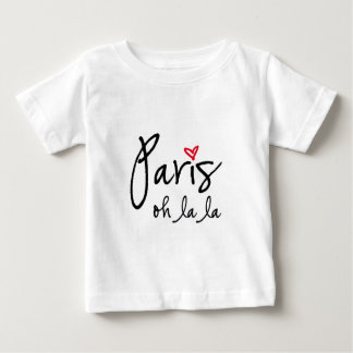 Paris oh la la baby T-Shirt