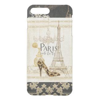 Paris ooh la  Fashion Eiffel Tower Chandelier iPhone 7 Plus Case
